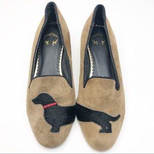 C. Wonder Dachshund Loafer Flats